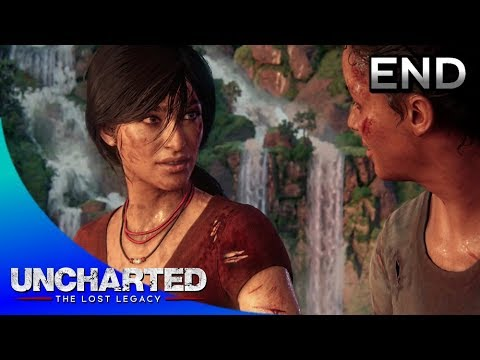 UNCHARTED: The Lost Legacy ENDING · Chapter 9: End of the Line (100% Collectibles)