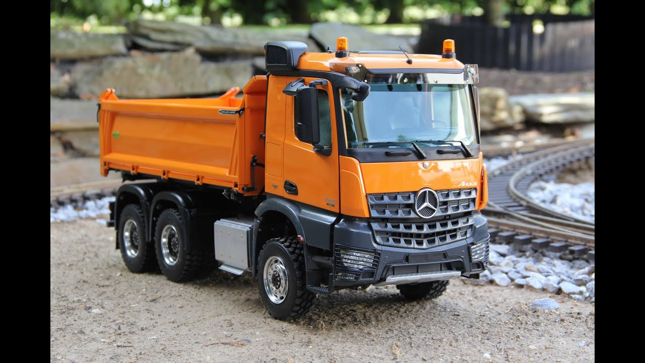 OOPS - THE BRAND NEW SCALEART MERCEDES BENZ AROCS - FIRST ...