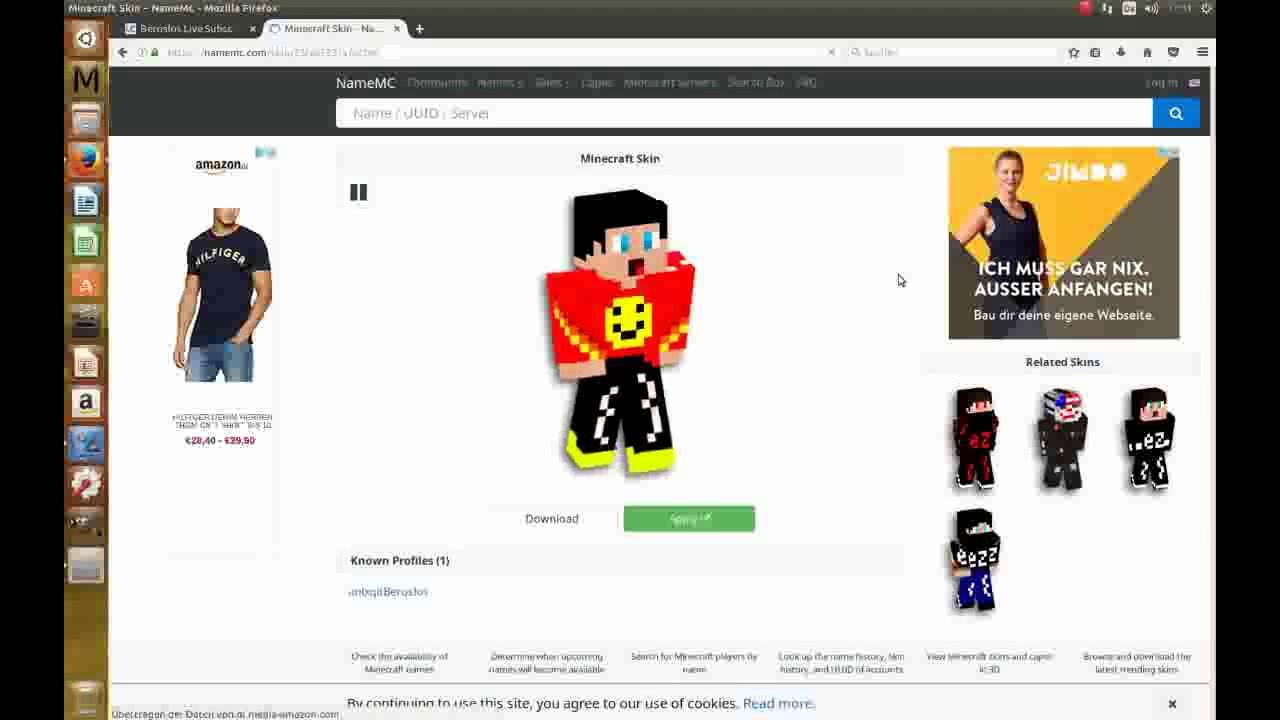 NameMC Namen In Minecraft Heraus Finden Geht So Einfach YouTube - Skinuri minecraft namemc