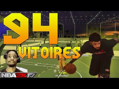 NBA2K17 - SERIE DE 94 VICTOIRES AVEC SWP_GEOGEO | PATCH 1.05 WTFFFF