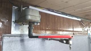 Халявный привод для распашных ворот из старого мотоподвеса.(, 2017-02-06T19:26:35.000Z)