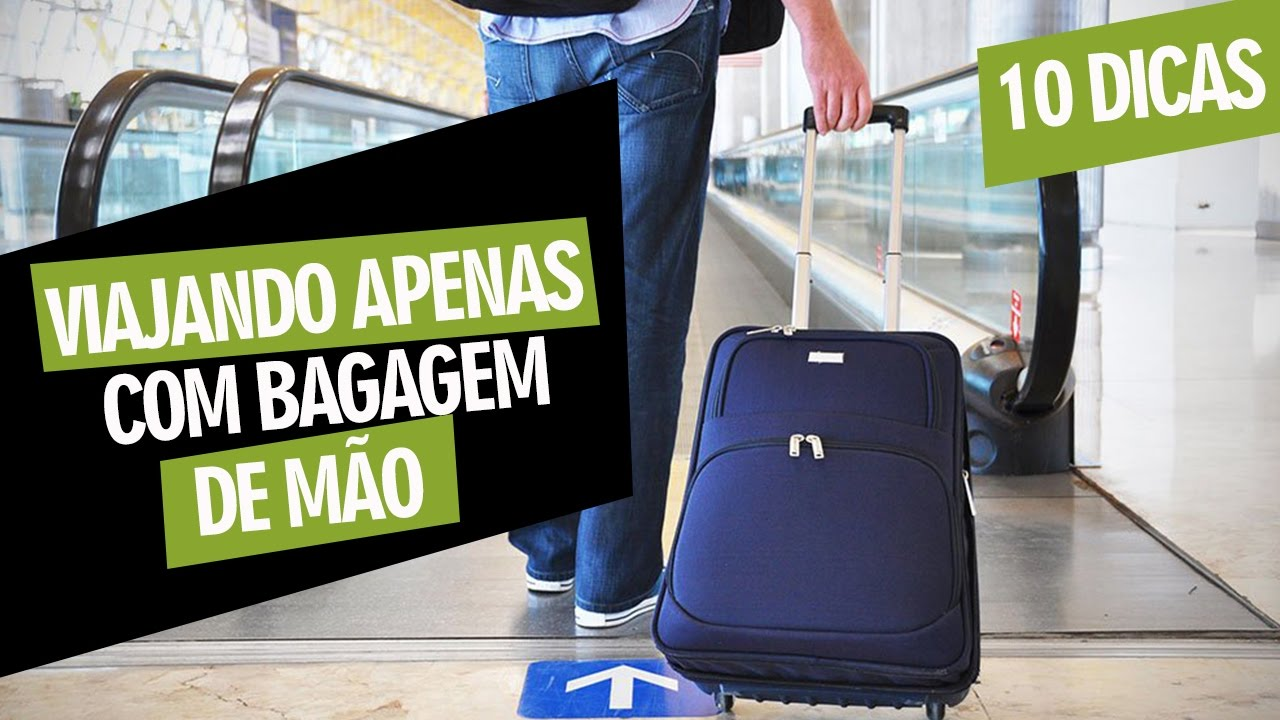 Bolsa De Mão Viagem Internacional : Dicas para viajar apenas com bagagem de m?o