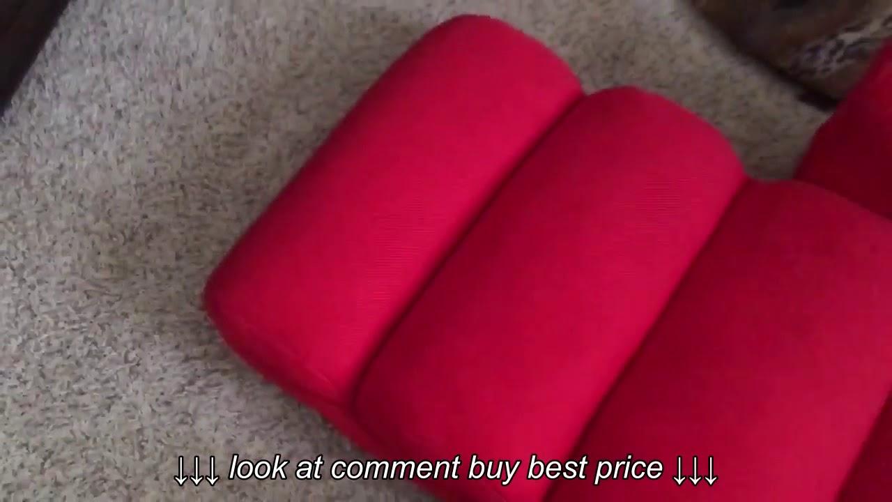 Broken In A Week Merax Relaxing Foldable Lazy Sofa Chair Youtube