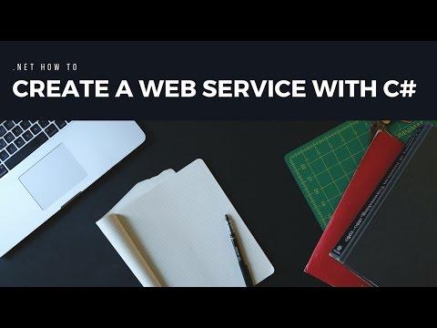 Create A Web Service With C#