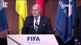 Fifa election: Sepp Blatter re-election speech highlights
