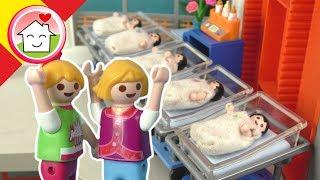 Playmobil en español El nacimiento de los quintillizos - La Familia Hauser