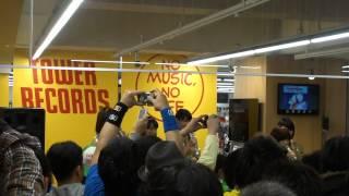 2013/03/20に行われた、TOWER RECORDSピヴォ札幌店でのアップアップガー...