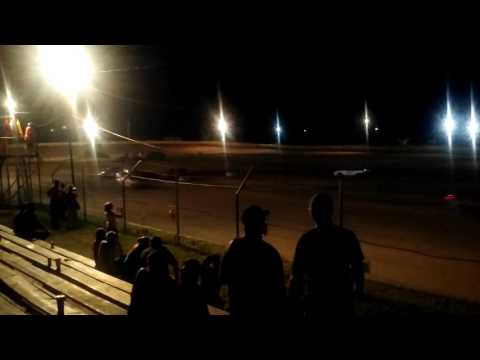 Chandler Motor Speedway Scrapper Feature. John and Amanda Cox 8-12-16