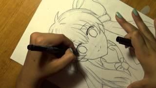 Drawing Sakura Chiyo: Gekkan Shoujo Nozaki Kun