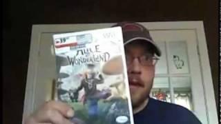 SpaceAntiques Winner (rld0724) - Alice In Wonderland (Nintendo Wii) for $0.11