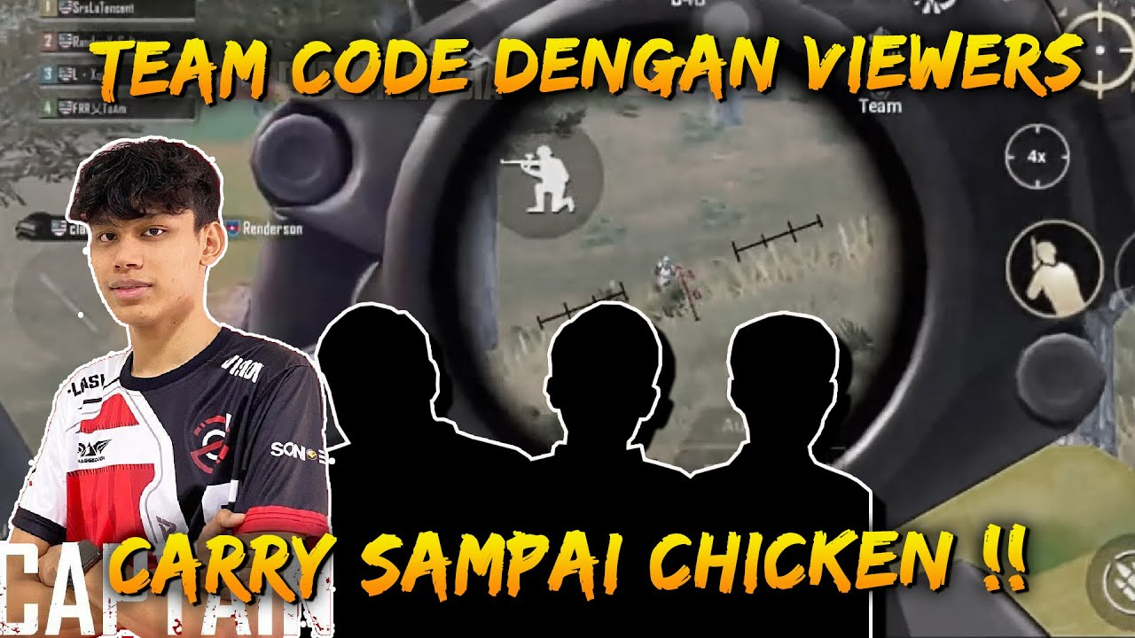 Carry Member Team Code Sampai chicken | San Gameplay | PUBG Mobile Malaysia