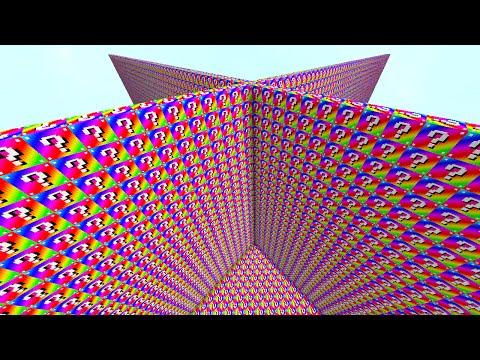 2V2 RAINBOW LUCKY BLOCK WALLS!   Minecraft Mods