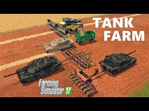 Farming Simulator 17: TANK FARM!!! AMAZING MOD!!!