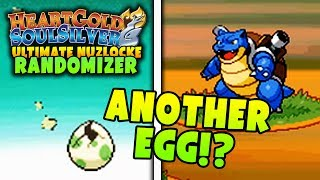 ANOTHER EGG HATCH!? | Pokemon Heart Gold Soul Silver RANDOMIZER Ultimate Nuzlocke Soul Link #2