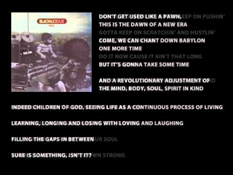 Blackalicious - Finding (with Lyrics)