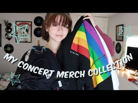 My Concert Merch Collection!! Panic! at the Disco, The 1975, and More!!