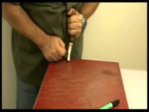 Comment aiguiser ou aff ter une renette ou un couteau sabots de cheval avec easysharp - Comment bien aiguiser un couteau ...