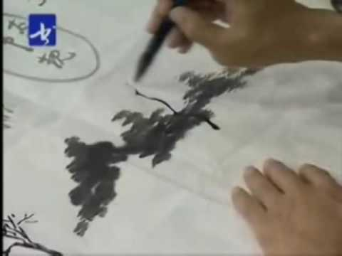 Sumi-e Landscape Chinese Painting (Part 4)