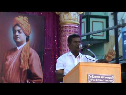 Hindu Munnani Avinashi Tirupur Madha Maatra Thaduppu Maanaadu Dhamu G  VenkateswaranJI Speech by R R