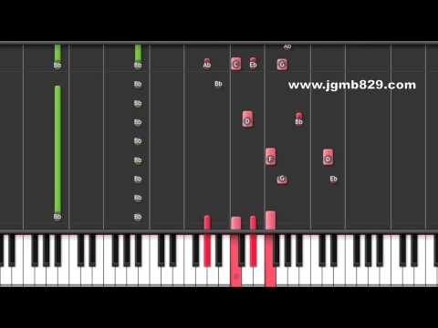 Kim Jong Kook - Men Are All Like That (Piano)