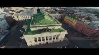 Съемка с воздуха, город Санкт-петербург // St.Petersburg aerial video(, 2014-06-16T14:08:32.000Z)