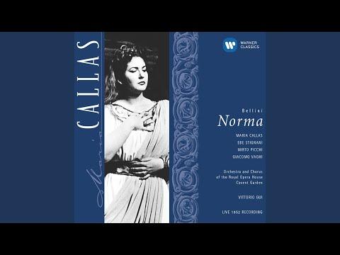 Norma, ACT 1, Scene 1: Casta diva (Norma/Coro)