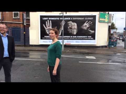 Birmingham LGBT domestic violence campaign launch