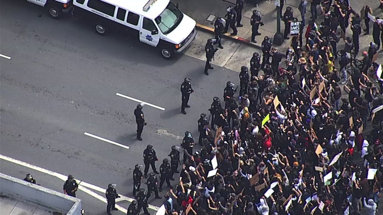 San Francisco police give update on George Floyd protests in city -- WATCH LIVE