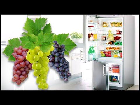 Вопрос: Как сохранить виноград свежим?