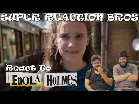 SRB Reacts to Enola Holmes | Official Trailer