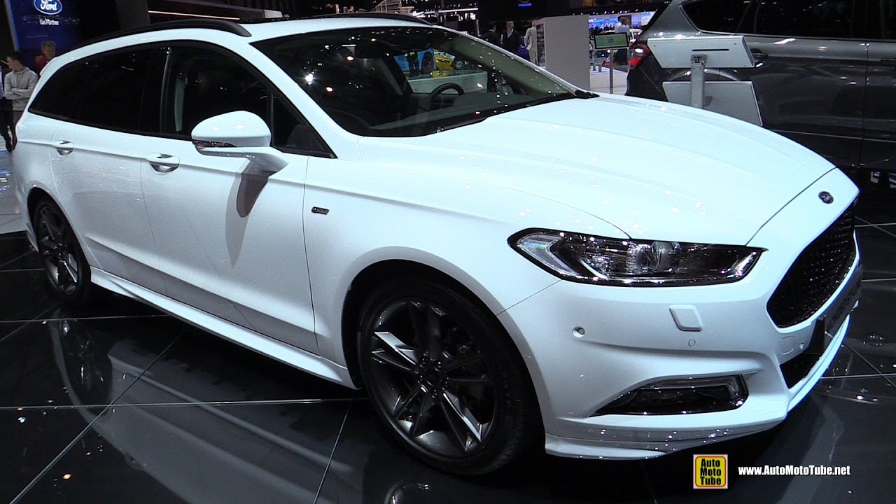 2017 ford mondeo st line exterior and interior walkaround 2017 geneva motor show youtube. Black Bedroom Furniture Sets. Home Design Ideas