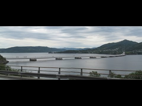 The bridges of Bergen, Norway