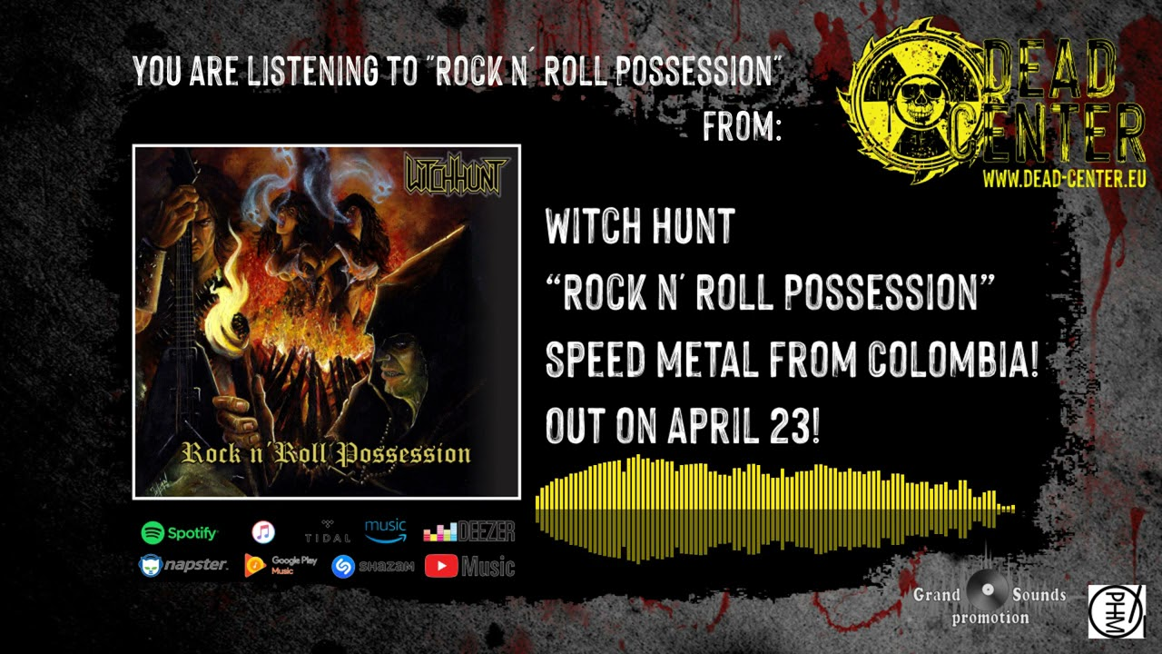 Witch Hunt - Rock n' Roll Possession (Official Track)