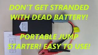 REVIEW MIUO Jump Starter 1500A Peak Portable Battery Booster 12V 15600mAh