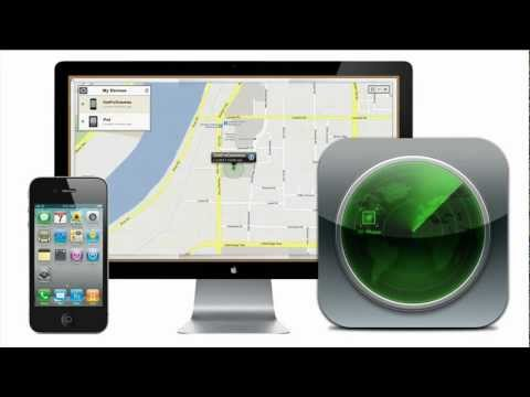 "Thumbnail: ""FIND MY iPHONE"" 