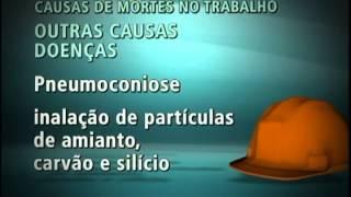 Doenças profissionais são responsáveis por mortes no trabalho - Repórter Brasil (noite)