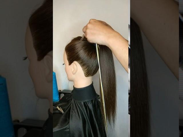 Peinado con Alaciadora Grafito Titanio 💛🖤