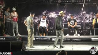 KID BOOGIE VS SLIM BOOGIE [ Final ] - HURRICANES BATTLE-ISM 2015 TAIWAN & POPPIN 1ON1 SIDE