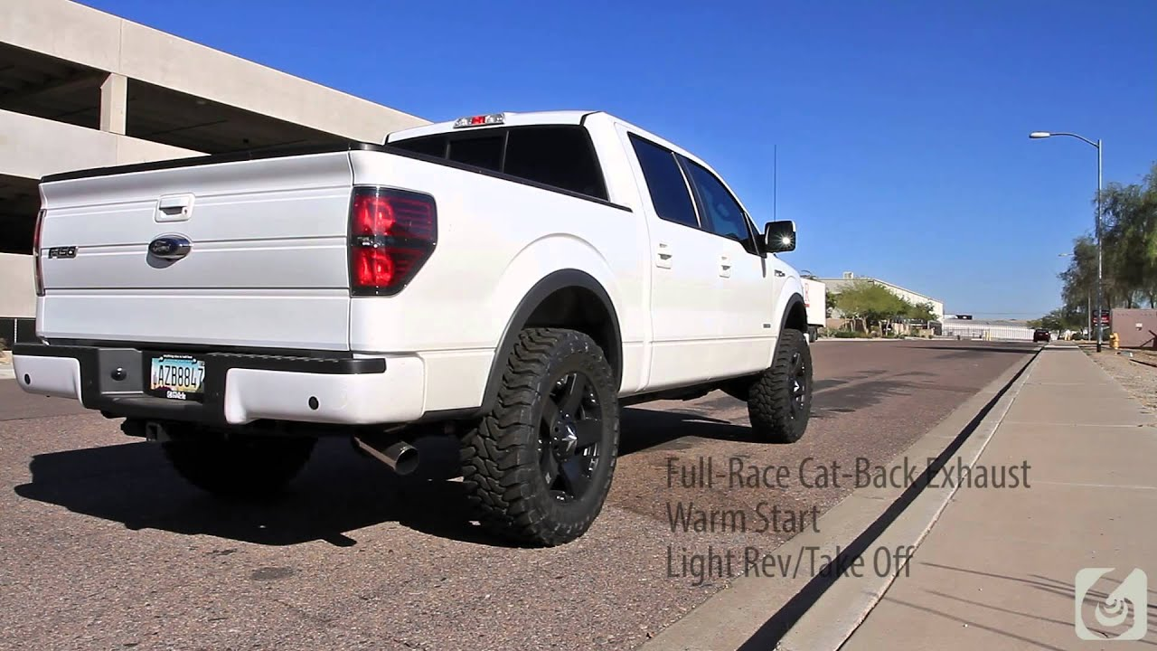full race 2011 ford f 150 ecoboost 3 inch exhaust system doovi. Black Bedroom Furniture Sets. Home Design Ideas