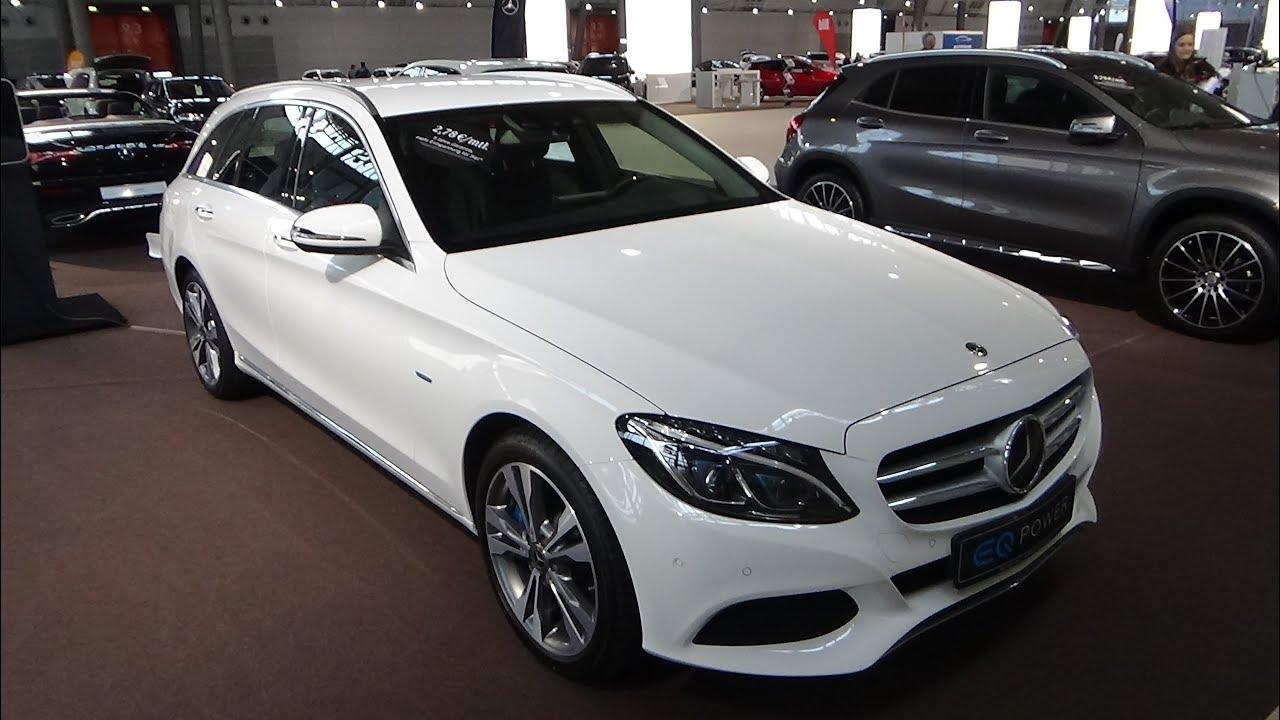 2018 Mercedes-Benz C 350 e T-Modell - Exterior and ...