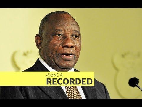President Cyril Ramaphosa replies to MPs SONA debate