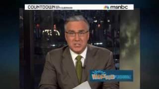 Whack job : Glenn Beck  Keith Olbermann