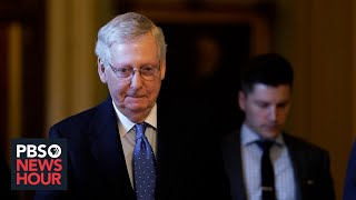 WATCH LIVE: McConnell addresses impeachment and U.S. strike on Iran general in Senate floor speech