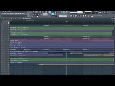 FL Studio 12 - The Chainsmokers Paris Remake + Acapella | Free FLP Download