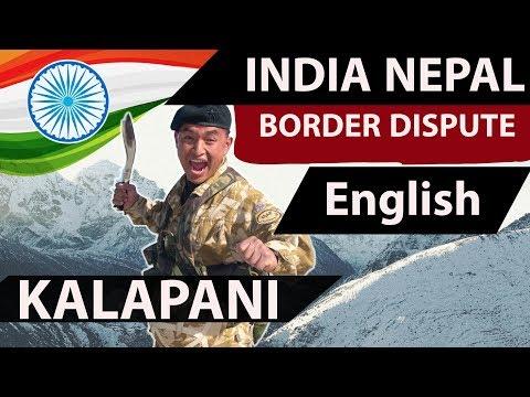 India - Nepal Kalapani dispute (English) - International relations for UPSC IAS IPS State PCS