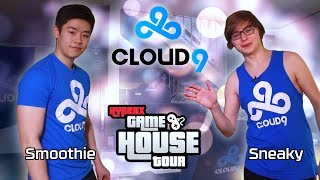 Cloud9 LoL HyperX Gaming House Tour 2017