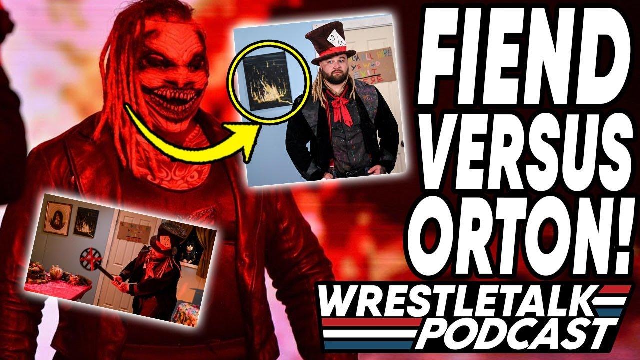 The Fiend Vs. Randy Orton! WWE Raw Oct 26, 2020 Review! | WrestleTalk Podcast