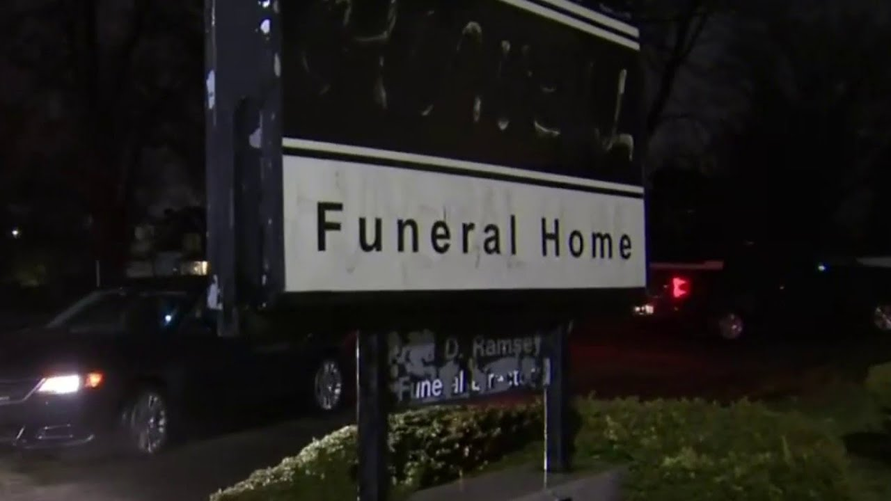 Cremated remains removed from abandoned funeral home in Detroit