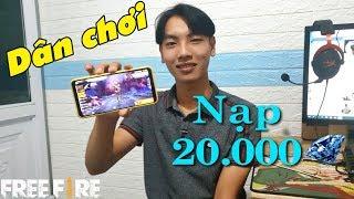Cười Đau Bụng Với Thanh Niên Sỡ Hữu Acc Có 20.000 Kim Cương [Vlog Free Fire] | Meow DGame