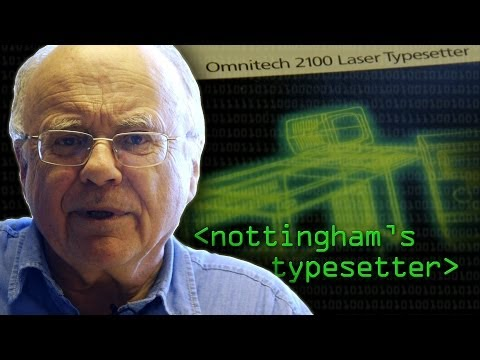 Typesetters in the '80s - Computerphile